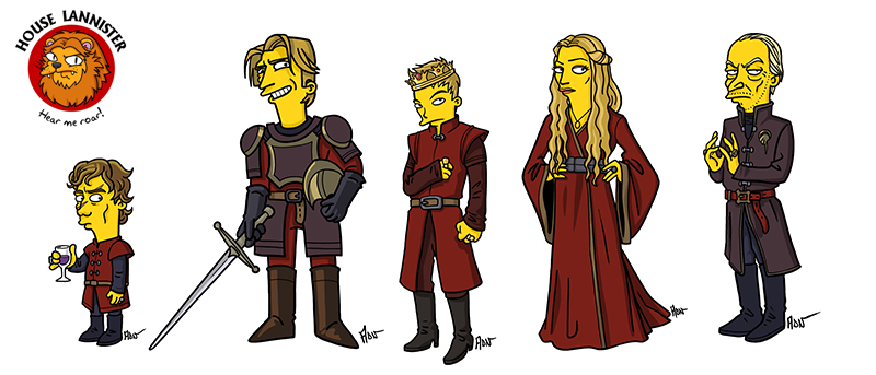 Game of Thrones - The Lannisters