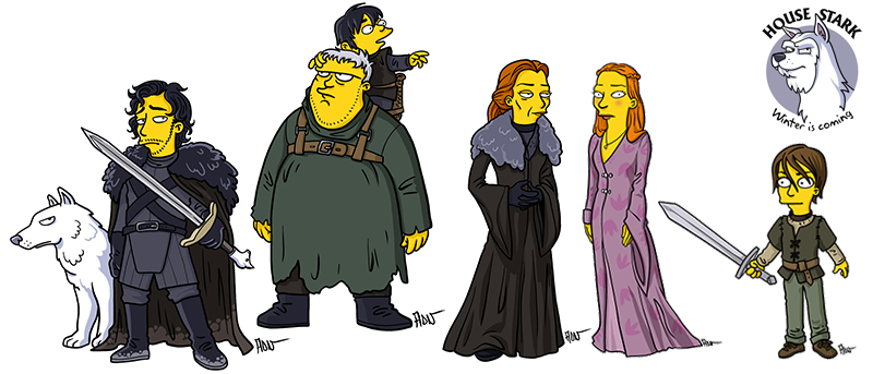Game of Thrones - The Starks