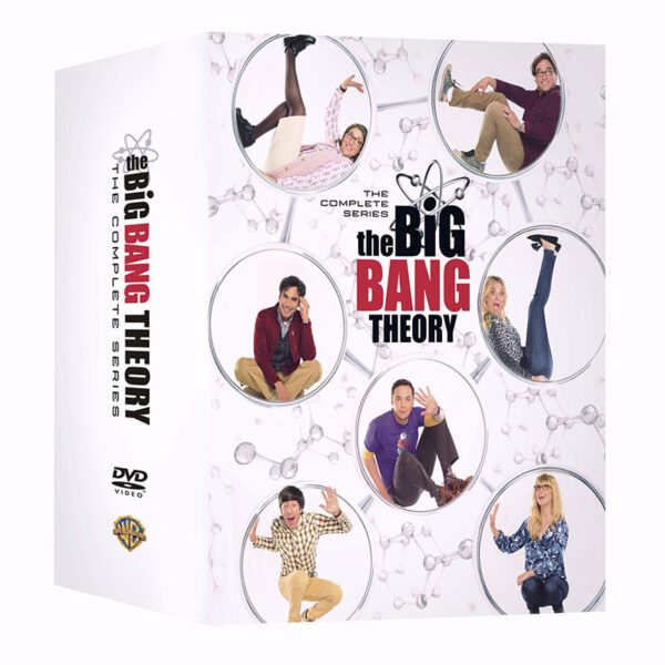 Køb The Big Bang Theory på DVD